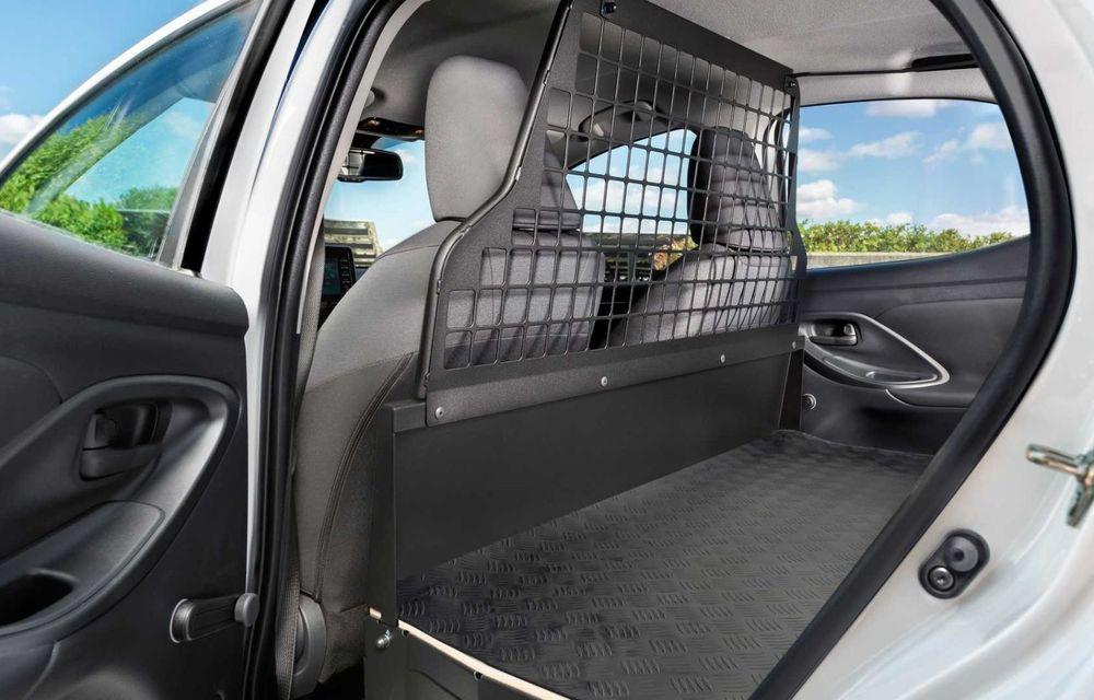 Toyota Yaris ECOVan: utilitară cu 720 de litri spațiu de încărcare, disponibilă momentan doar în Spania - Poza 4