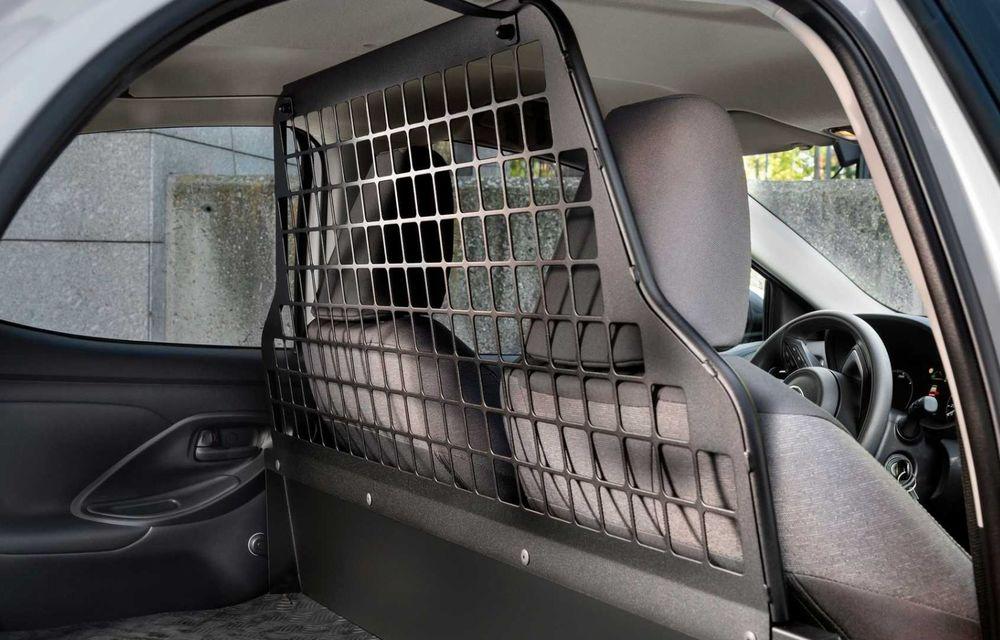 Toyota Yaris ECOVan: utilitară cu 720 de litri spațiu de încărcare, disponibilă momentan doar în Spania - Poza 5