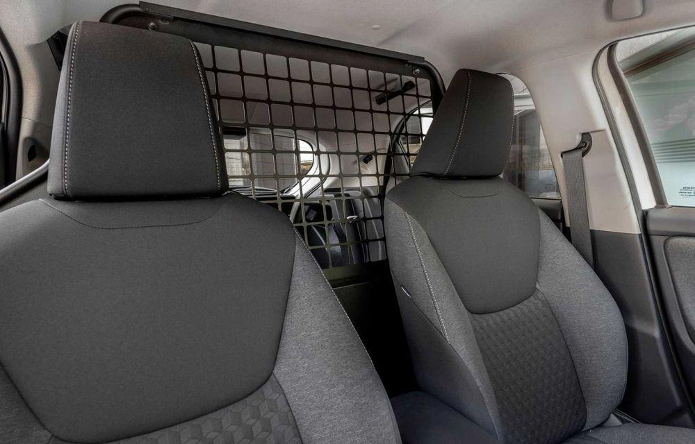 Toyota Yaris ECOVan: utilitară cu 720 de litri spațiu de încărcare, disponibilă momentan doar în Spania - Poza 9