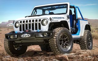 Primul Jeep electric va fi lansat în 2023