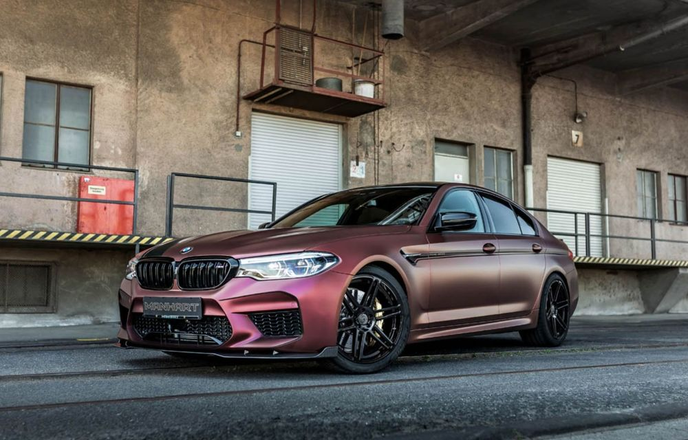 BMW M5 tunat de Manhart: motorul V8 dezvoltă acum 815 CP și 1.050 Nm - Poza 1