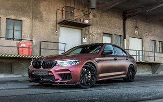 BMW M5 tunat de Manhart: motorul V8 dezvoltă acum 815 CP și 1.050 Nm