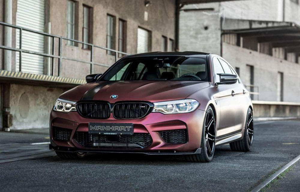 BMW M5 tunat de Manhart: motorul V8 dezvoltă acum 815 CP și 1.050 Nm - Poza 2