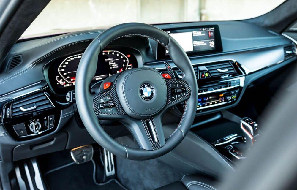BMW M5 tunat de Manhart: motorul V8 dezvoltă acum 815 CP și 1.050 Nm - Poza 6
