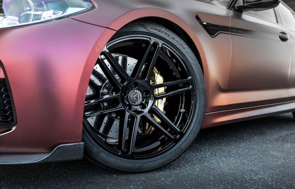 BMW M5 tunat de Manhart: motorul V8 dezvoltă acum 815 CP și 1.050 Nm - Poza 9