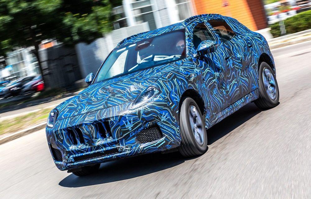 Noul Maserati Grecale va fi prezentat în noiembrie - Poza 1