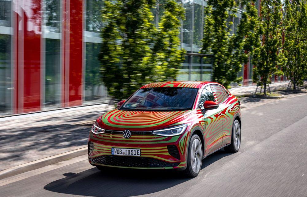 Noul Volkswagen ID.5 GTX va fi prezentat în 7 septembrie - Poza 2