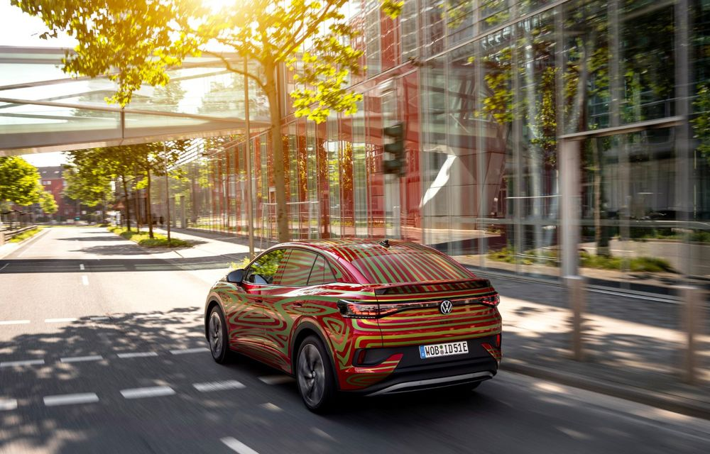Noul Volkswagen ID.5 GTX va fi prezentat în 7 septembrie - Poza 4