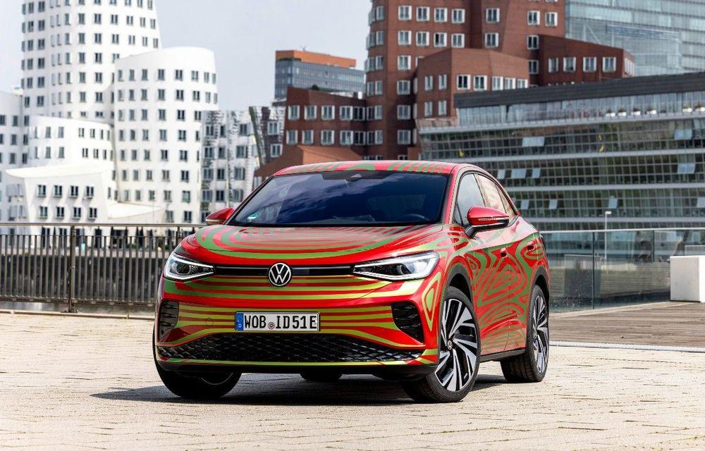 Noul Volkswagen ID.5 GTX va fi prezentat în 7 septembrie - Poza 1