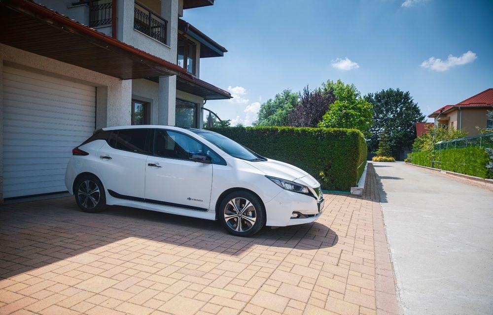 Viața cu Nissan Leaf: interviu cu Marius Iordan, un posesor care folosește mașina electrică de 4 ani - Poza 2