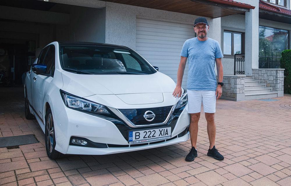 Viața cu Nissan Leaf: interviu cu Marius Iordan, un posesor care folosește mașina electrică de 4 ani - Poza 1