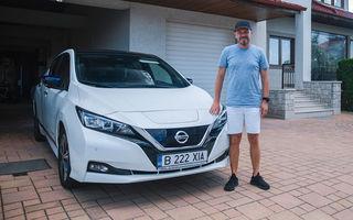 Viața cu Nissan Leaf: interviu cu Marius Iordan, un posesor care folosește mașina electrică de 4 ani