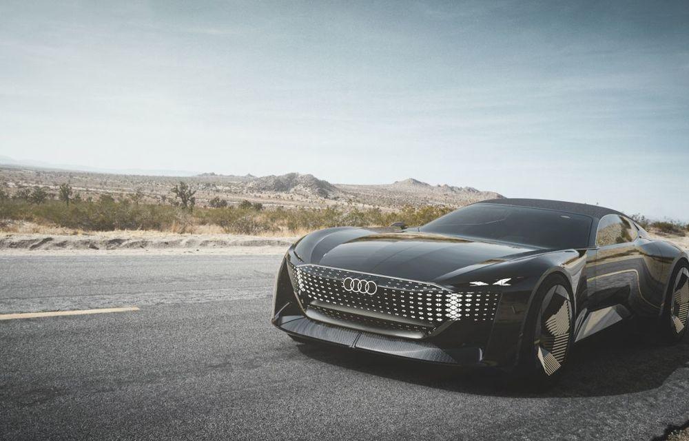 Audi prezintă conceptul electric Skysphere: 630 de cai putere și autonomie de 500 km - Poza 2