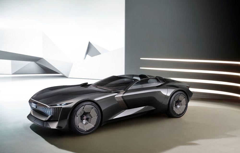 Audi prezintă conceptul electric Skysphere: 630 de cai putere și autonomie de 500 km - Poza 20