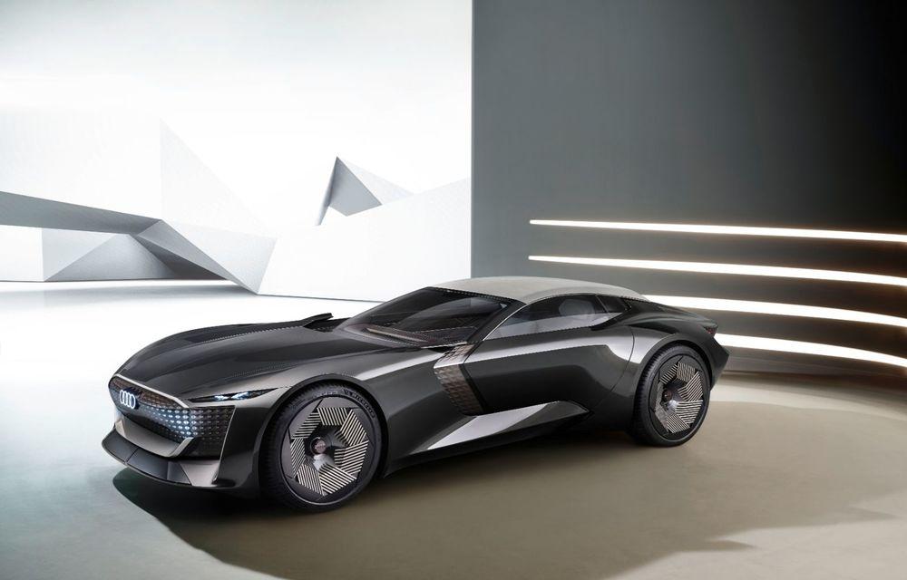 Audi prezintă conceptul electric Skysphere: 630 de cai putere și autonomie de 500 km - Poza 21
