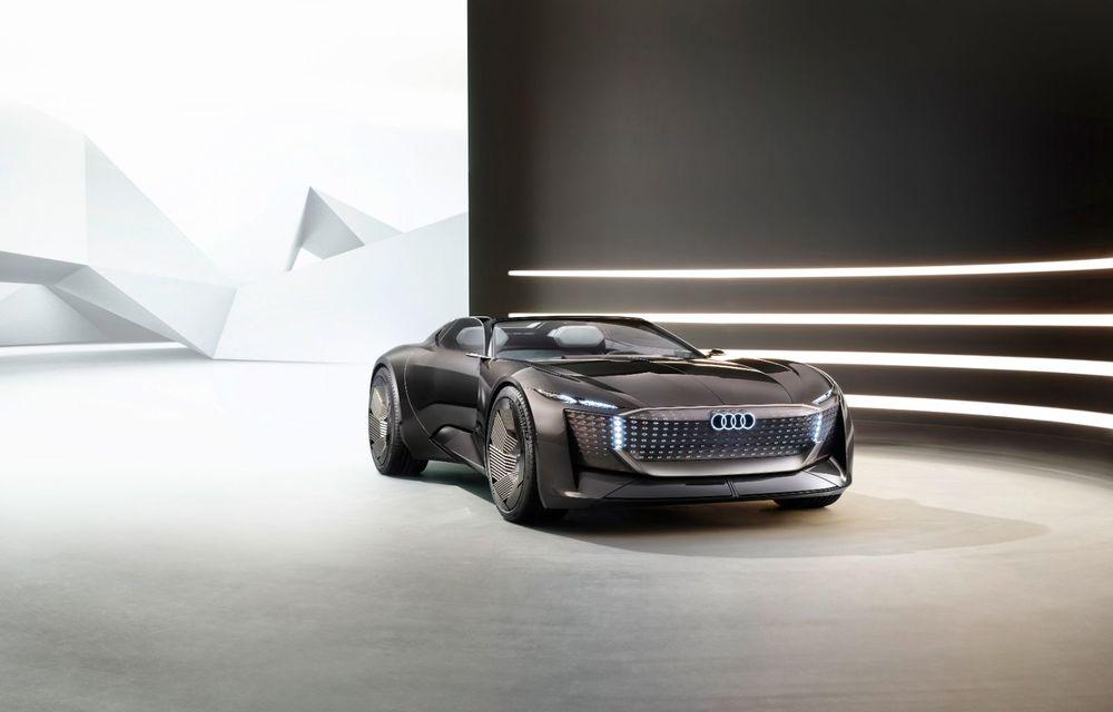 Audi prezintă conceptul electric Skysphere: 630 de cai putere și autonomie de 500 km - Poza 23