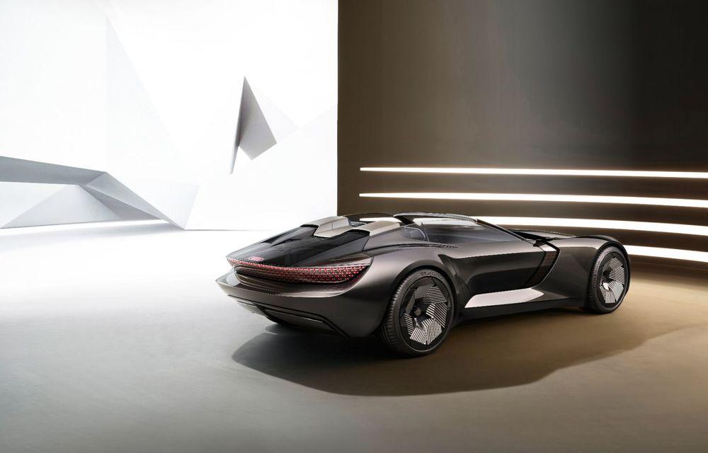 Audi prezintă conceptul electric Skysphere: 630 de cai putere și autonomie de 500 km - Poza 24