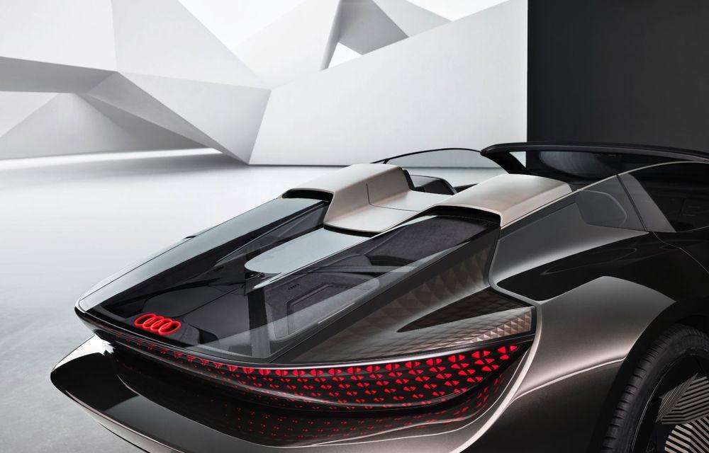 Audi prezintă conceptul electric Skysphere: 630 de cai putere și autonomie de 500 km - Poza 31