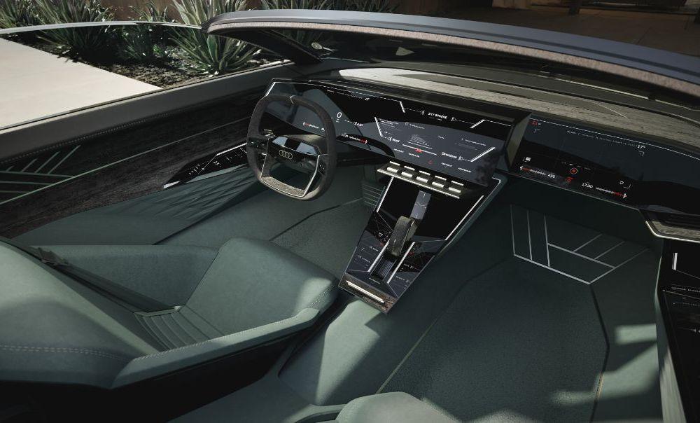 Audi prezintă conceptul electric Skysphere: 630 de cai putere și autonomie de 500 km - Poza 7