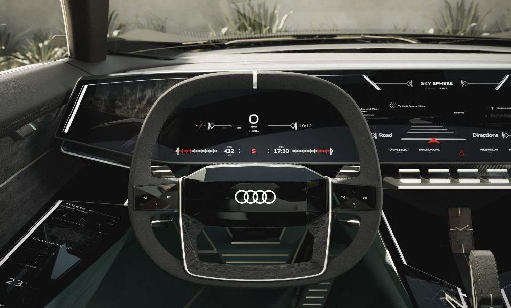 Audi prezintă conceptul electric Skysphere: 630 de cai putere și autonomie de 500 km - Poza 8