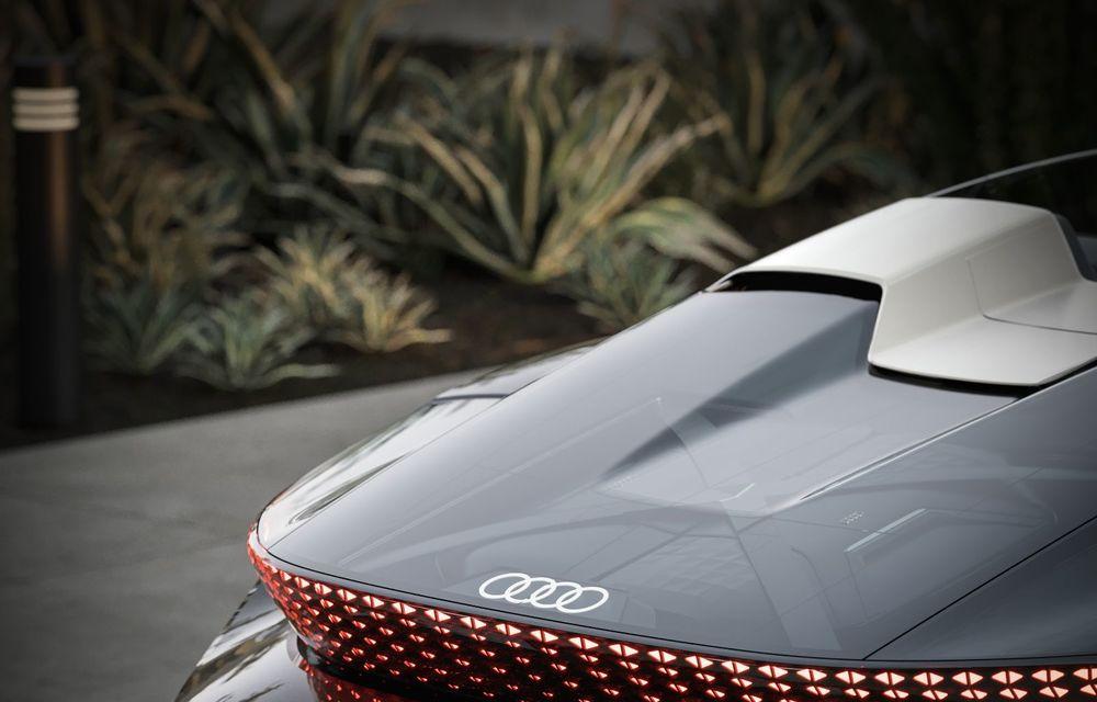 Audi prezintă conceptul electric Skysphere: 630 de cai putere și autonomie de 500 km - Poza 11
