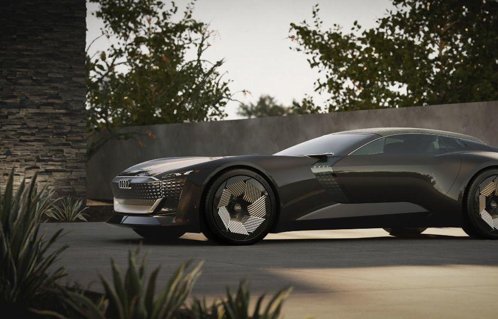Audi prezintă conceptul electric Skysphere: 630 de cai putere și autonomie de 500 km - Poza 13