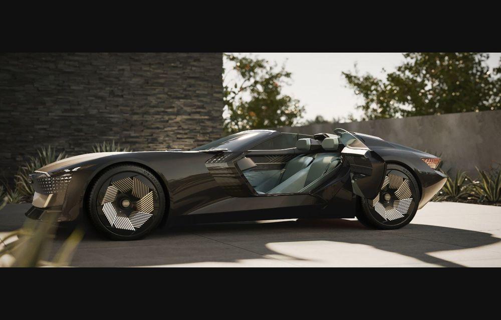 Audi prezintă conceptul electric Skysphere: 630 de cai putere și autonomie de 500 km - Poza 14