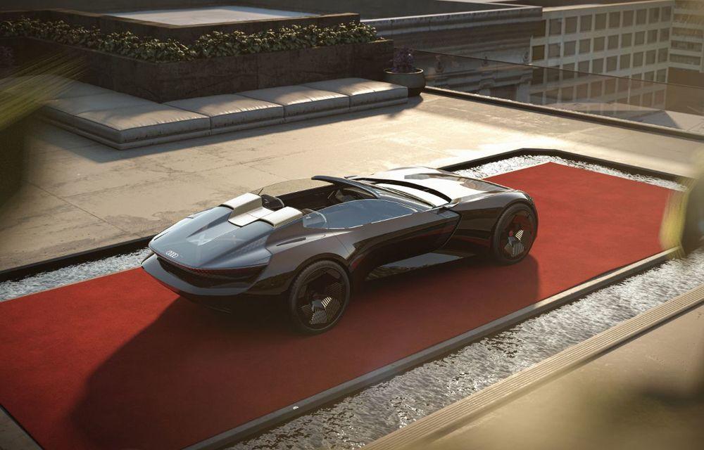 Audi prezintă conceptul electric Skysphere: 630 de cai putere și autonomie de 500 km - Poza 17