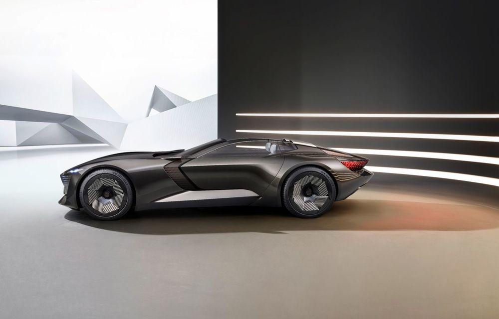 Audi prezintă conceptul electric Skysphere: 630 de cai putere și autonomie de 500 km - Poza 19