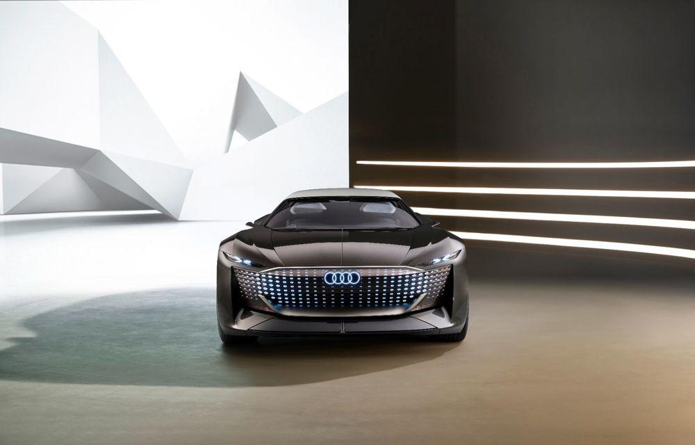 Audi prezintă conceptul electric Skysphere: 630 de cai putere și autonomie de 500 km - Poza 22