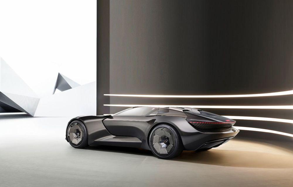 Audi prezintă conceptul electric Skysphere: 630 de cai putere și autonomie de 500 km - Poza 26