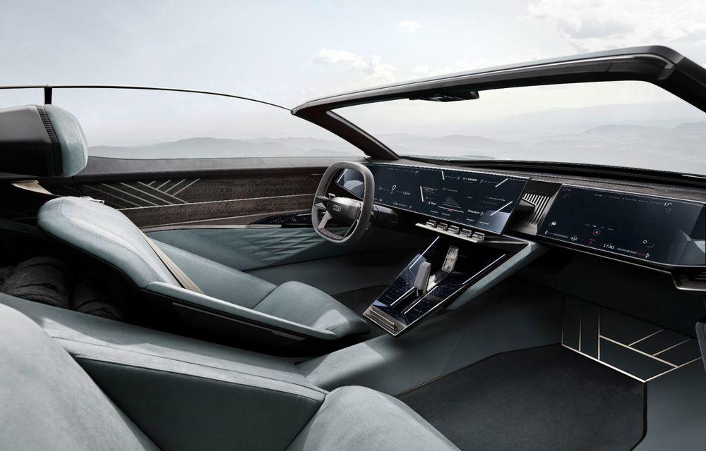 Audi prezintă conceptul electric Skysphere: 630 de cai putere și autonomie de 500 km - Poza 27