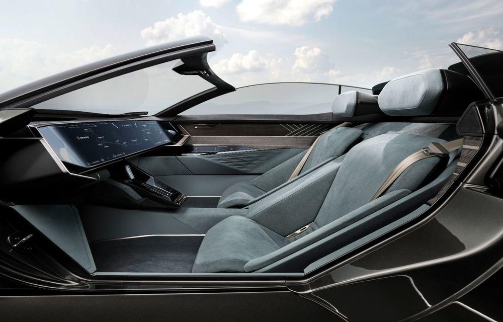 Audi prezintă conceptul electric Skysphere: 630 de cai putere și autonomie de 500 km - Poza 29