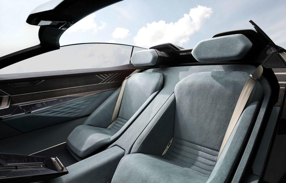 Audi prezintă conceptul electric Skysphere: 630 de cai putere și autonomie de 500 km - Poza 30