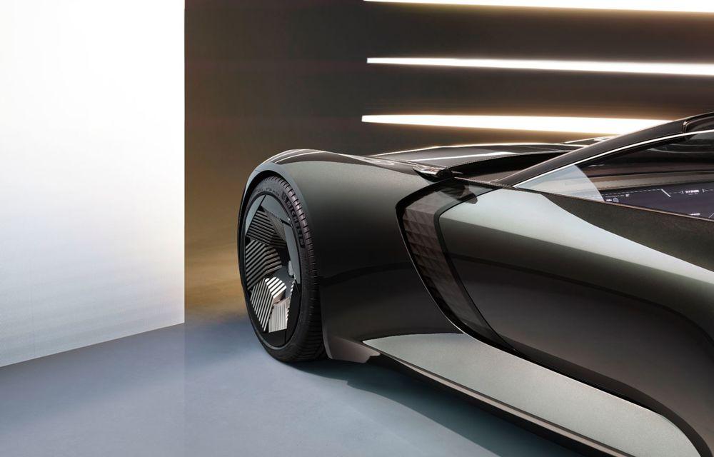 Audi prezintă conceptul electric Skysphere: 630 de cai putere și autonomie de 500 km - Poza 32