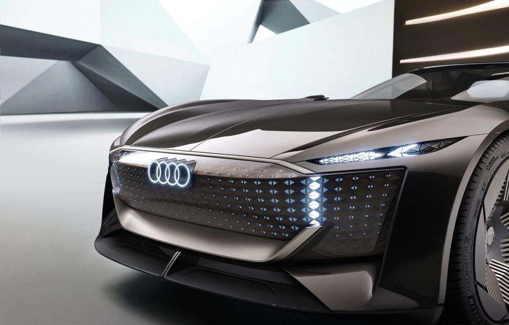 Audi prezintă conceptul electric Skysphere: 630 de cai putere și autonomie de 500 km - Poza 33