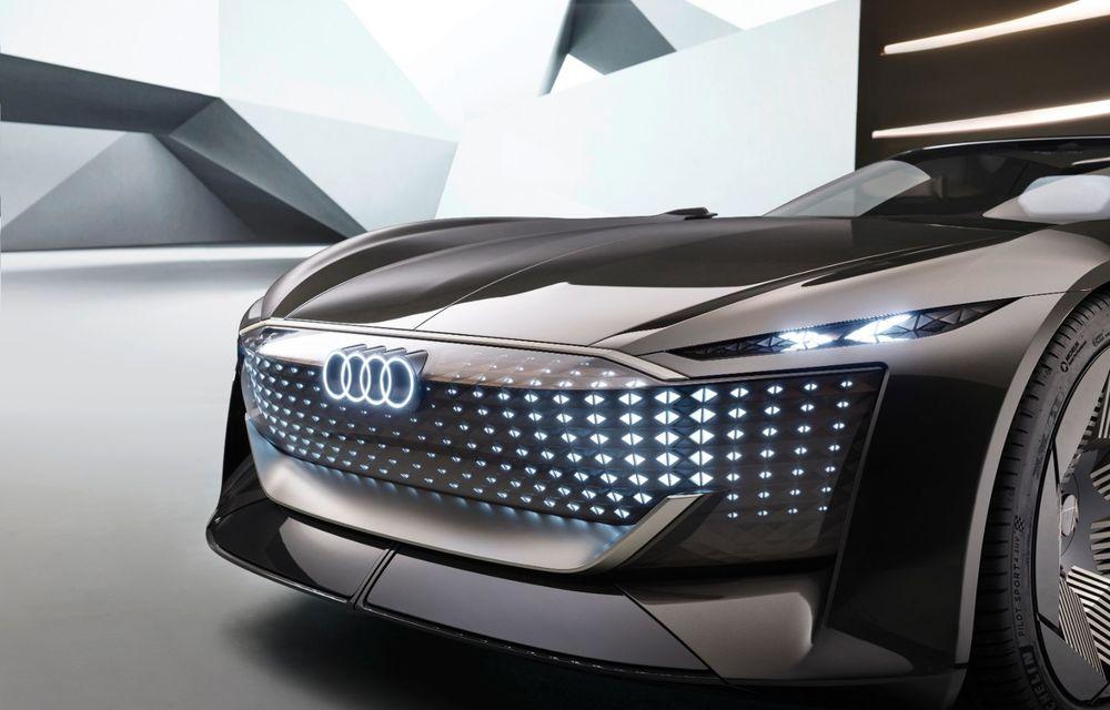 Audi prezintă conceptul electric Skysphere: 630 de cai putere și autonomie de 500 km - Poza 34