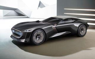 Audi prezintă conceptul electric Skysphere: 630 de cai putere și autonomie de 500 km