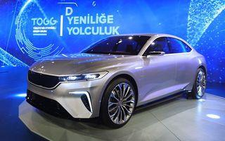Turcii de la TOGG vor începe producția națională de mașini electrice în 2022