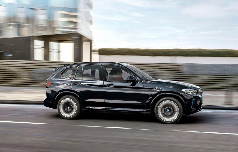 BMW iX3 facelift a fost prezentat: pachet M Sport în standard, preț de la 65.000 de euro - Poza 3