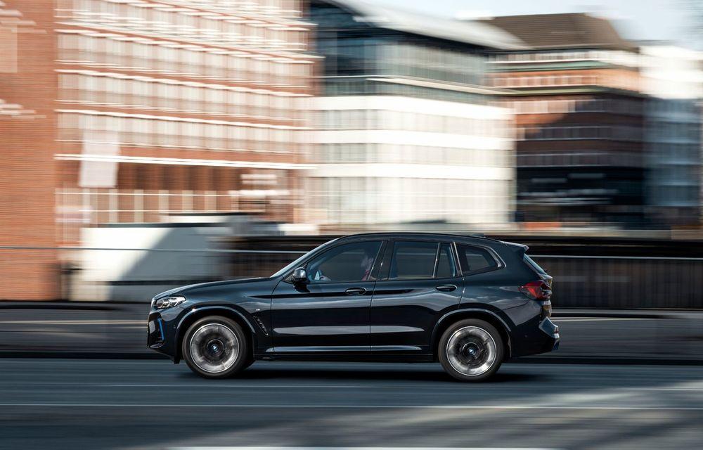 BMW iX3 facelift a fost prezentat: pachet M Sport în standard, preț de la 65.000 de euro - Poza 4
