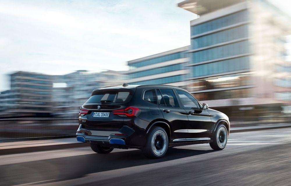 BMW iX3 facelift a fost prezentat: pachet M Sport în standard, preț de la 65.000 de euro - Poza 5