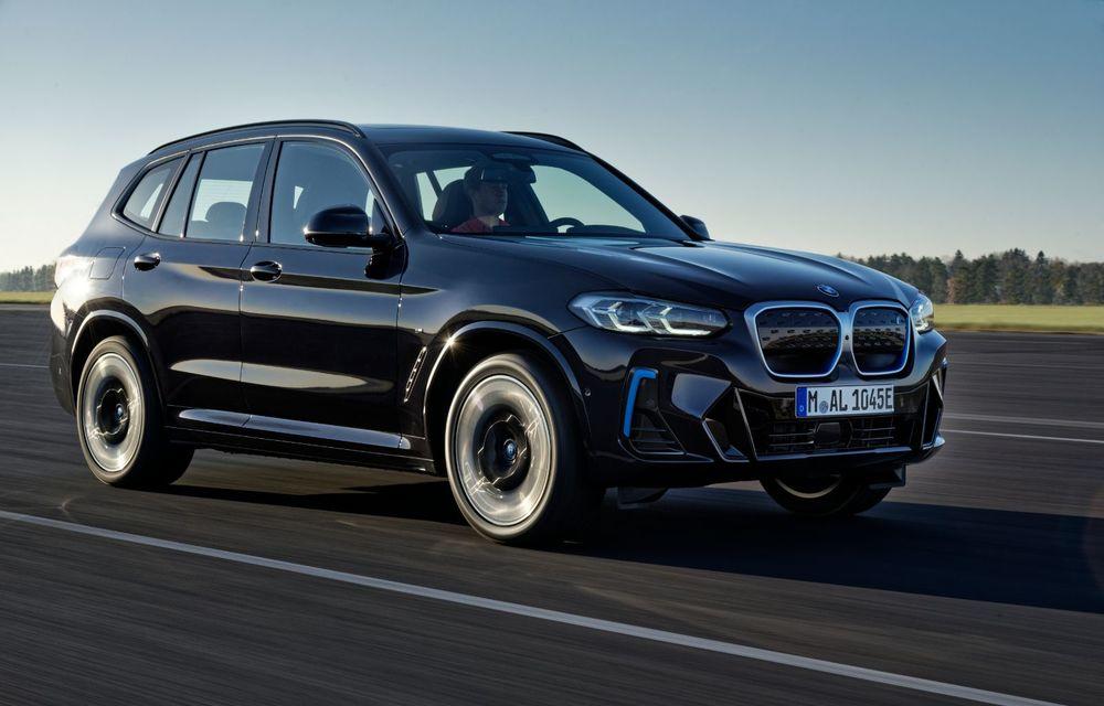 BMW iX3 facelift a fost prezentat: pachet M Sport în standard, preț de la 65.000 de euro - Poza 10