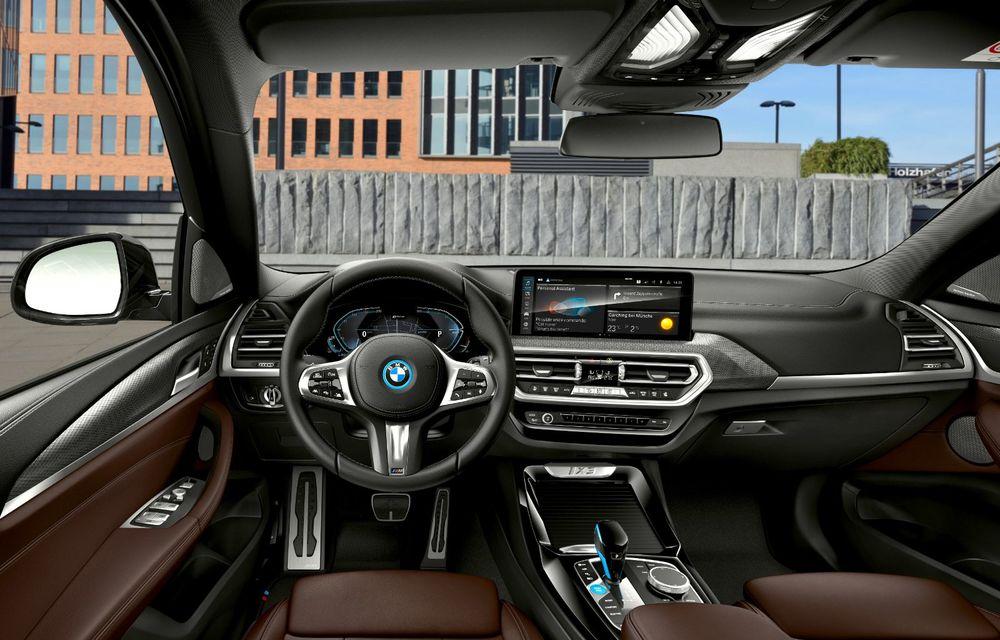 BMW iX3 facelift a fost prezentat: pachet M Sport în standard, preț de la 65.000 de euro - Poza 15