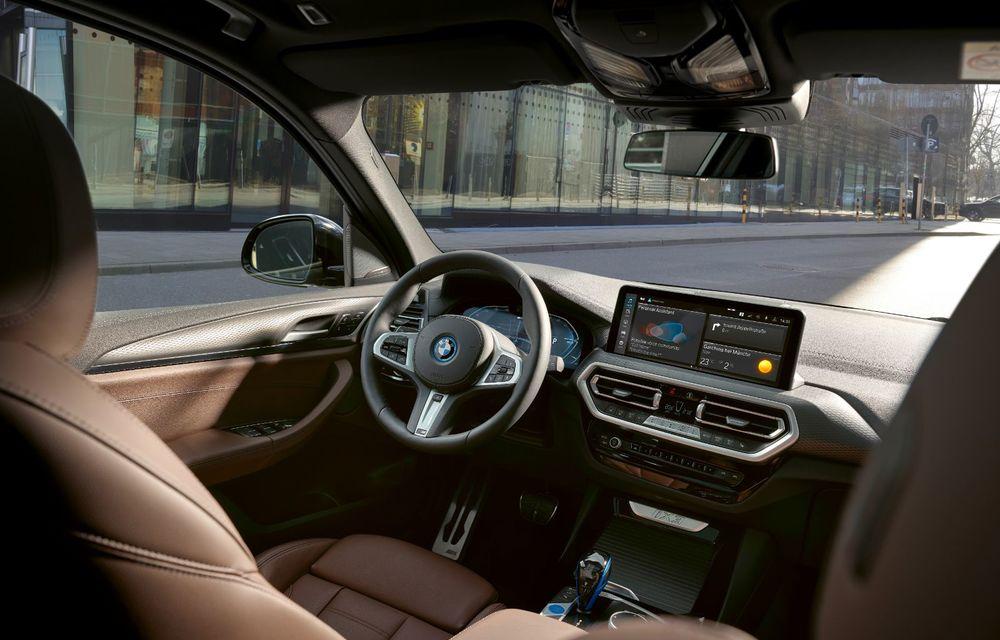 BMW iX3 facelift a fost prezentat: pachet M Sport în standard, preț de la 65.000 de euro - Poza 16