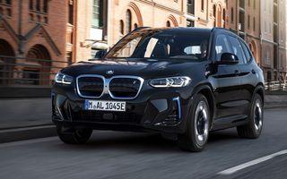 BMW iX3 facelift a fost prezentat: pachet M Sport în standard, preț de la 65.000 de euro
