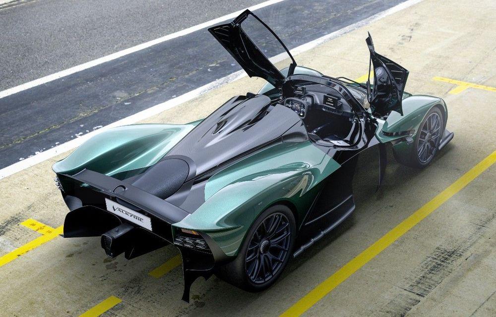 Hypercar-ul Aston Martin Valkyrie Spider de 1.176 CP, prezentat în California - Poza 1