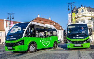 Sibiul introduce, în premieră, transportul public cu vehicule electrice în centrul istoric