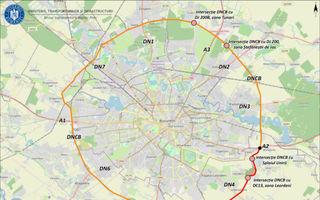 Centura București va fi lărgită la patru benzi între A2 și DN5: licitația a fost lansată