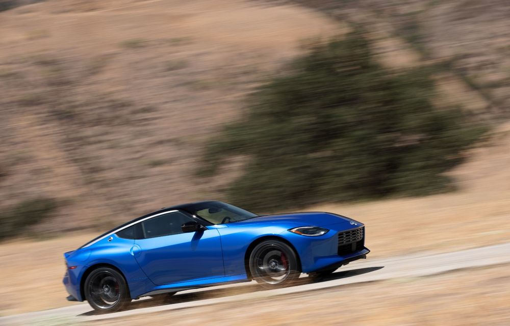 Urmașul lui Nissan 370Z este aici: se numește Nissan Z și vine tot cu motor V6 - Poza 5